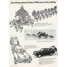 Volkswagen stationcar advertentie - 1969