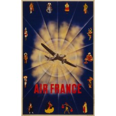 Air France poster - 1940