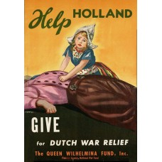 """Help Holland"" poster - 1944"