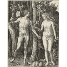 Adam en Eva - Albrecht Dürer - 1504