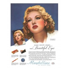 Betty Grable Maybelline ad 1940