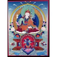 Guru Rinpoche thangka print