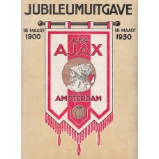 Ajax clubblad - jubileum cover 1930