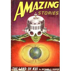 Amazing Stories cover - december 1946