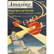 Amazing Stories cover - december 1961