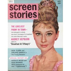 "Audrey Hepburn cover ""Screen Stories"", 1961"