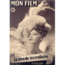 "Betty Hutton cover ""Mon Film"" - 1948"