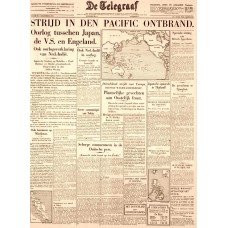 De Telegraaf - 8 december 1941 - Pearl Harbor