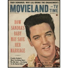 Elvis Presley cover Movieland - 1961