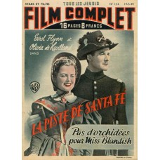 Errol Flyn en Olivia De Havilland cover Film Complet - 1949