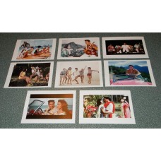 8 Elvis Presley Blue Hawaii kaarten - set B