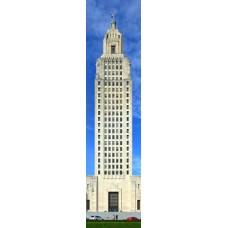 Baton Rouge toren - wandposter