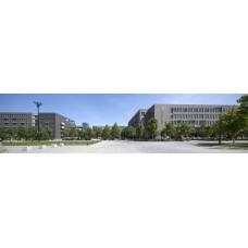 Campus - panoramische fotoprint