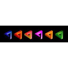 Escher driehoeken - fotoprint