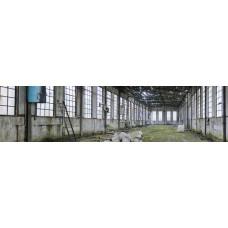 Fabriekshal ruïne - fotoprint