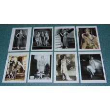 8 Flappers modekaarten