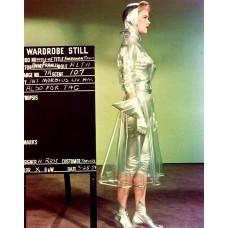 """Anne Francis kostuumtest voor """"Forbidden planet - 1954"""
