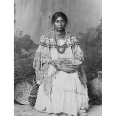 Apache bruid - ca. 1890