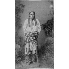 Chotte - Chiricahua Apache - ca. 1881