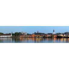 Aalborg Denemarken - panoramische fotoprint