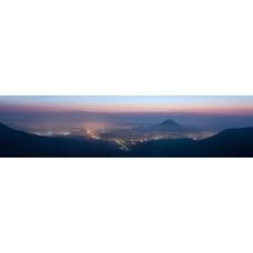 Achalm Duitsland - panoramische fotoprint