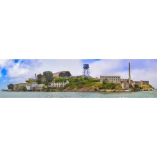 Alcatraz - panoramische fotoprint