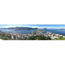 Alesund Noorwegen - panoramische fotoprint