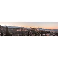 Alhambra Spanje - panoramische fotoprint