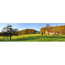 Alsace Frankrijk - panoramische fotoprint van 111 cm