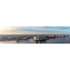 Amsterdam Nederland - panoramische fotoprint
