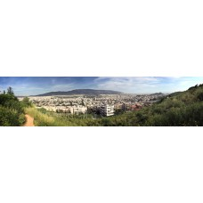 Athene Griekenland - panoramische fotoprint