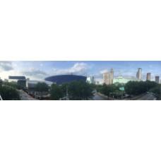 Atlanta USA - panoramische fotoprint