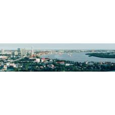 Bangkok, Thailand - panoramische fotoprint
