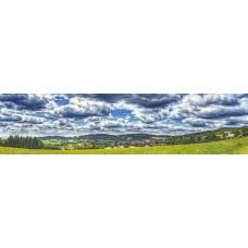 Beierse woud - Duitsland - panoramische fotoprint