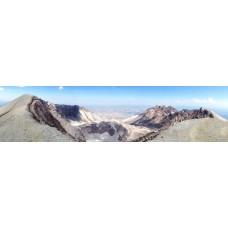 Berglandschap AA - panoramische fotoprint