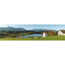 Berglandschap AB - panoramische fotoprint