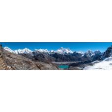 Berglandschap AE - panoramische fotoprint