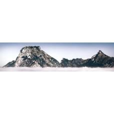 Berglandschap AJ - panoramische fotoprint