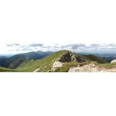 Berglandschap AL - panoramische fotoprint