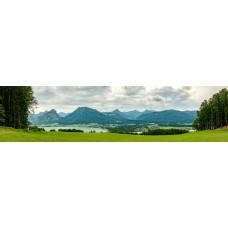 Berglandschap AM - panoramische fotoprint