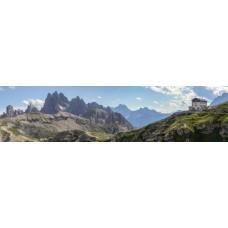 Berglandschap AQ - panoramische fotoprint