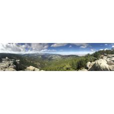 Berglandschap AR - panoramische fotoprint