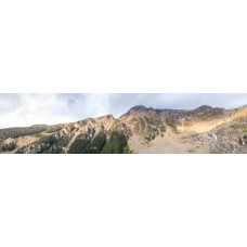 Berglandschap AT - panoramische fotoprint