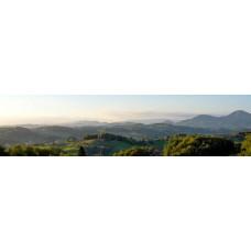 Berglandschap AU - panoramische fotoprint