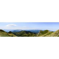 Berglandschap AV - panoramische fotoprint