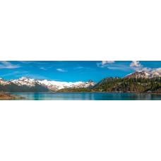 Berglandschap AW - panoramische fotoprint