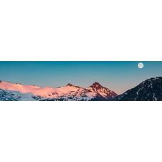 Berglandschap AX - panoramische fotoprint