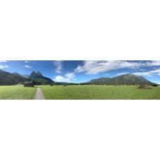 Berglandschap AY - panoramische fotoprint
