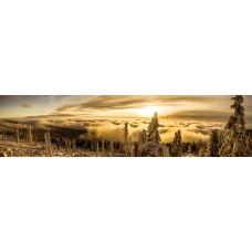 Berglandschap B - panoramische fotoprint