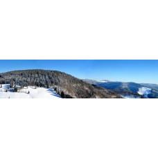 Berglandschap BD - panoramische fotoprint